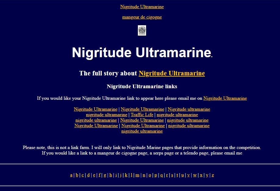 Nigritude Ultramarine