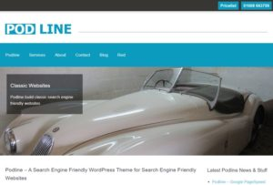 search engine friendly WordPress theme